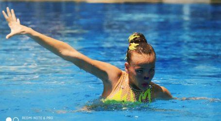 Πολύ καλές εμφανίσεις της Νίκης Βόλου στο Πανελλήνιο Πρωτάθλημα Καλλιτεχνικής Κολύμβησης Κορασίδων Β'