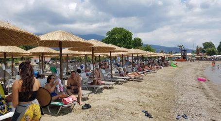 Ο καιρός χάλασε την έξοδο των Βολιωτών για μπάνιο στις παραλίες