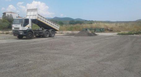 Νέος χώρος στάθμευσης στο Αχίλλειο Μαγνησίας