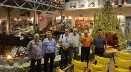 Τα Κανάλια και το Κέντρο Φυσικής Ιστορίας επισκέφθηκε ο υποψήφιος Βουλευτής του ΚΙΝΑΛ Ν. Χαυτούρας