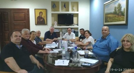 Με τη Διοίκηση του Επιμελητηρίου Μαγνησίας συναντήθηκε ο Ν. Χαυτούρας