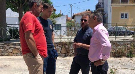 Περιοδεία του Αλ. Μεϊκόπουλου στις Βόρειες Σποράδες