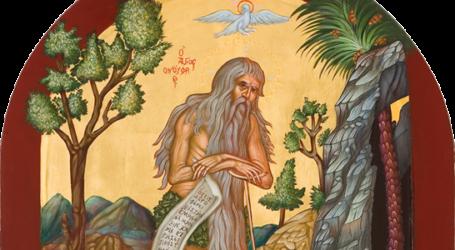 Μνήμη Οσίου Ονουφρίου στη Μητρόπολη Δημητριάδος