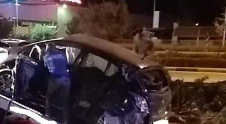 Τροχαίο λίγο μετά τα μεσάνυχτα της Παρασκευής στη Λάρισα – Ένας νεαρός τραυματίας στο νοσοκομείο (φωτο)