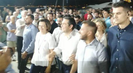 Μήνυμα Τσίπρα από τον Βόλο – Οι δύο υποψήφιοι βουλευτές που διάλεξε να έχει δίπλα του