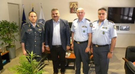 Εθιμοτυπική επίσκεψη Μ. Μιτζικού στη Διεύθυνση Αστυνομίας Μαγνησίας