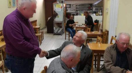 Στη Νέα Αγχίαλο ο υπ. βουλευτής ΚΙΝΑΛ Νίκος Χαυτούρας [εικόνες]