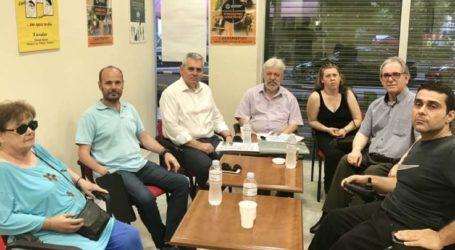 Χαρακόπουλος: Δυνατότητα στα ΑμεΑ να συμμετέχουν ισότιμα παντού!
