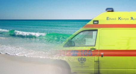 Πέθανε ο 60χρονος που κατέρρευσε σε παραλία του Πηλίου
