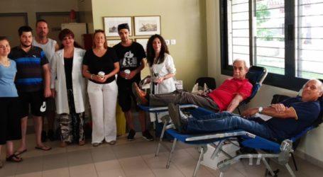 Εθελοντική αιμοδοσία με μεγάλη συμμετοχή στη Νίκαια