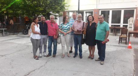 Σύσκεψη του «ΣΥΡΙΖΑ-Προοδευτική Συμμαχία» στο Βελεστίνο