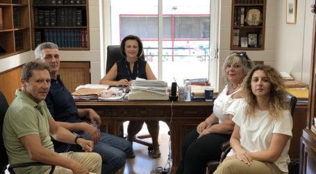 Συνάντηση Μ. Χρυσοβελώνη με τους εργαζόμενους της ΔΕΥΑΜΒ