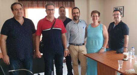 Συνάντηση του Κωνσταντίνου Μαραβέγιαμε Εξωτερικούς Φρουρούς Καταστημάτων Κράτησης