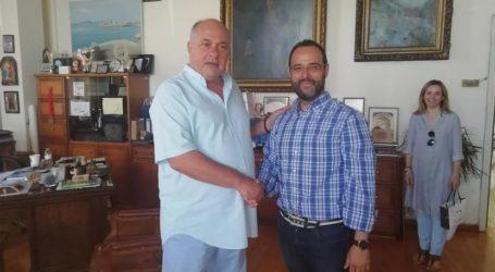Με υποψηφίους βουλευτές συναντήθηκε ο Αχιλλέας Μπέος [εικόνες]