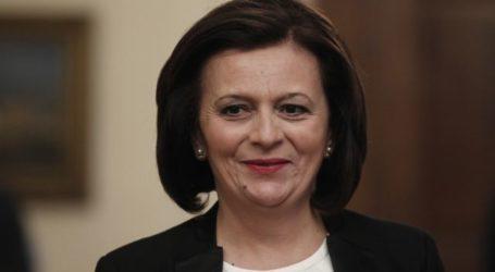 Μ. Χρυσοβελώνη: Εύχομαι η νέα Κυβέρνηση να συνεχίσει την πετυχημένη διαδρομή της δικής μας Κυβέρνησης