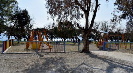 «Άγιο είχε» 3χρονο κοριτσάκι στον Βόλο – Καταπλακώθηκε από σιδερένια πόρτα παιδικής χαράς