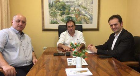 Με Επιμελητήριο και Εμπορικό Σύλλογο Λάρισας συναντήθηκε η «Φυσικό Αέριο Ελληνική Εταιρεία Ενέργειας»