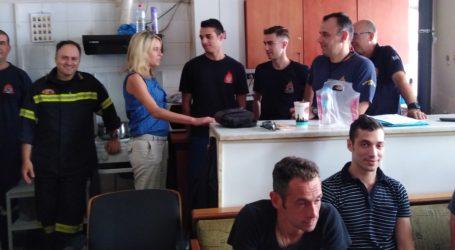 Κατερίνα Πατσογιάννηστην Πυροσβεστική:Ανάγκη ισχυρού φορέα πολιτικής προστασίας