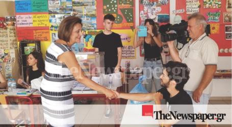 Ψήφισε η Υφυπουργός Εσωτερικών Μαρίνα Χρυσοβελώνη [εικόνες]