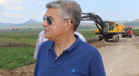 Με έργο 240.000 ευρώ βελτιώνει την πρόσβαση σε γεωργικές και κτηνοτροφικές εκμεταλλεύσεις στο Παλιούρι Βόλου η Περιφέρεια Θεσσαλίας
