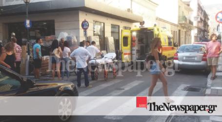 Τροχαίο ατύχημα στον Βόλο – Ποδηλάτης παρασύρθηκε από αυτοκίνητο [εικόνες]