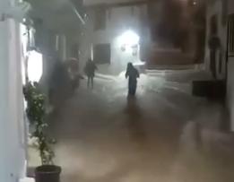 Σκόπελος: Η στιγμή της καταιγίδας [βίντεο]