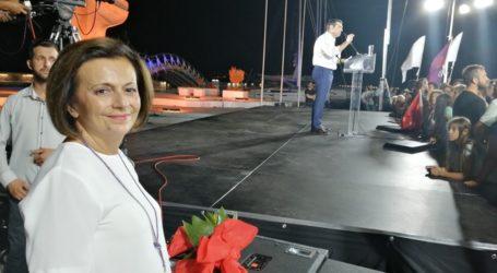 Επαφές της Μαρίνας Χρυσοβελώνη στη Μαγνησία