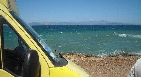 Μαγνησία: Πέθανε 74χρονος στην παραλία την ώρα που κολυμπούσε