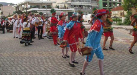 Η συμμετοχή του Συλλόγου Ν. Αγχιάλου στο 6ο Διεθνές Φεστιβάλ Παραδοσιακών Χορών