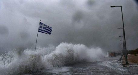 Έρχεται o «Αντίνοος» – Ισχυρές βροχές και καταιγίδες έως την Τετάρτη και στη Θεσσαλία