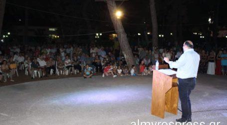 Χρ. Τριαντόπουλος: Με αέρα νίκης και στη Ν. Αγχίαλο