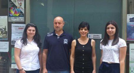 Το Κοινωνικό Παντοπωλείο Λάρισας επισκέφθηκε η 10η Τ.ΟΜ.Υ Γιάννουλης