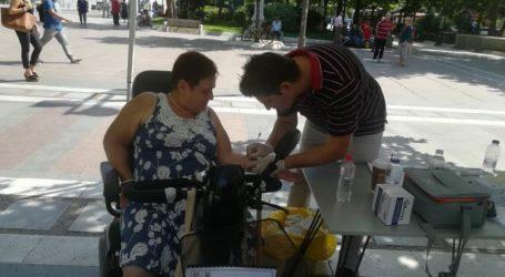Δωρεάν τεστ αλλεργίας όλους έγινε στην Κεντρική πλατεία