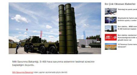 Έφθασαν τα S-400 στην Τουρκία
