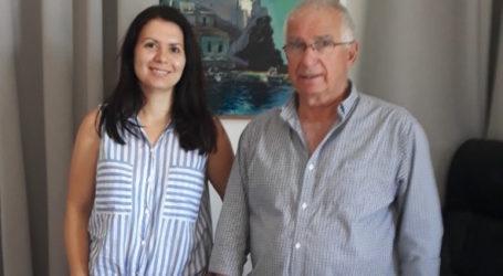 Η υποψήφια βουλευτής Μαγνησίας Ζ.Αναγνώστου σε Σκόπελο και Γλώσσα
