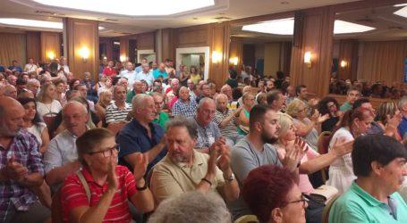 Ογκώδης συγκέντρωση Χαυτούρα στον Βόλο – Η Μαγνησία να εκλέξει και πάλι βουλευτή [εικόνες]