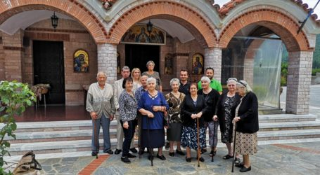 Επίσκεψη των τροφίμων του Γηροκομείου Καναλίων στην Παναγία Ξενιά