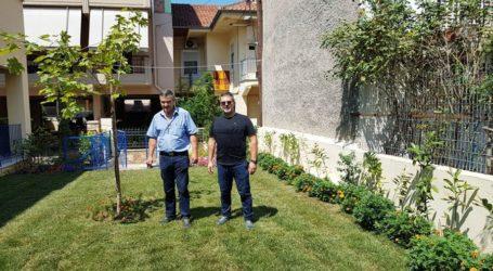 Νέος χώρος πρασίνου στον 10ο Παιδικό Σταθμό του Δήμου Λαρισαίων