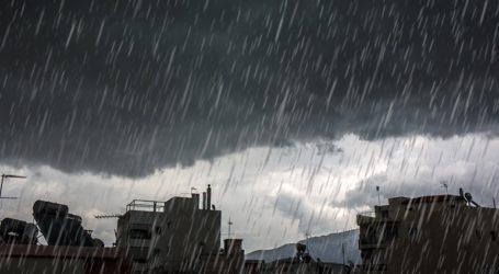Καταιγίδα στον Βόλο – Χαλάζι στο Πήλιο