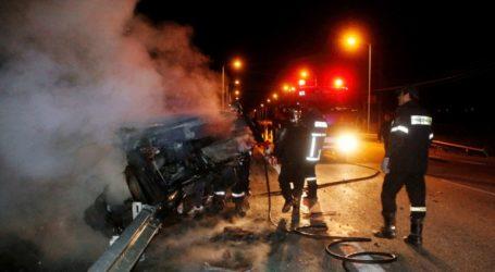 Τροχαίο ατύχημα με τρεις τραυματίες στην Κηφισίας