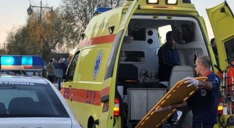 Τροχαίο δυστύχημα στην εθνική οδό Θεσσαλονίκης- Μουδανιών