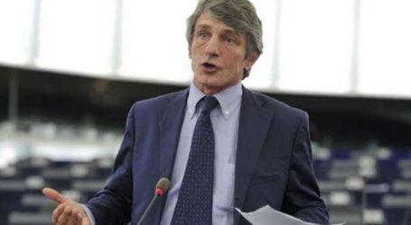 Ο Νταβίντ Σασόλι εξελέγη πρόεδρος του Ευρωπαϊκού Κοινοβουλίου