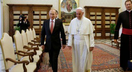 Πούτιν και Πάπας είχαν «ουσιαστικές» συνομιλίες στο Βατικανό για την Ουκρανία, τη Συρία και τη Βενεζουέλα