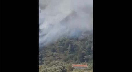 Πυρκαγιά στο Πικέρμι κοντά σε εμπορικό κέντρο