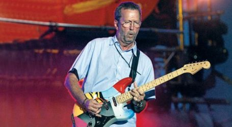 Στα Δωδεκάνησα για διακοπές ο κιθαρίστας Έρικ Κλάπτον