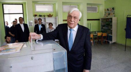 Ψήφισε ο Πρόεδρος της Δημοκρατίας, Προκόπης Παυλόπουλος