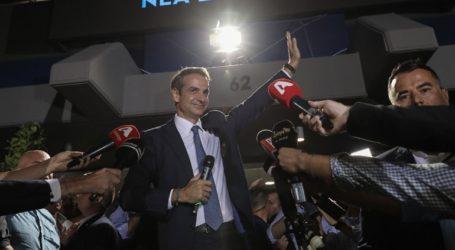 O Mητσοτάκης έλαβε την εντολή σχηματισμού κυβέρνησης