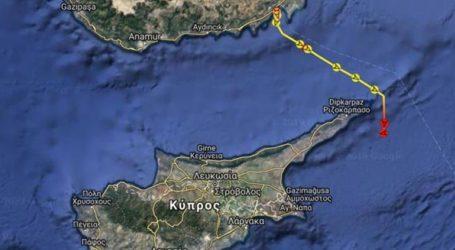 Δεύτερο τουρκικό πλοίο γεωτρήσεων κατέπλευσε στα ανοικτά των κυπριακών ακτών