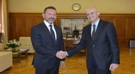 Την καλή εικόνα του τραπεζικού συστήματος παρουσίασε ο Γ. Στουρνάρας στον A. Enria του SSM