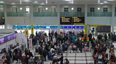 Αναστολή πτήσεων στο αεροδρόμιο Γκάτγουικ λόγω προβλήματος στο σύστημα ελέγχου της κυκλοφορίας